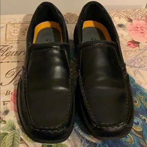Boys Jumping Jacks Leather Loafers Size 2-2.5